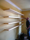 Maple Shelves