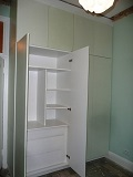 6 door and 3 draw floor to ceiling fully fitted wardrobe