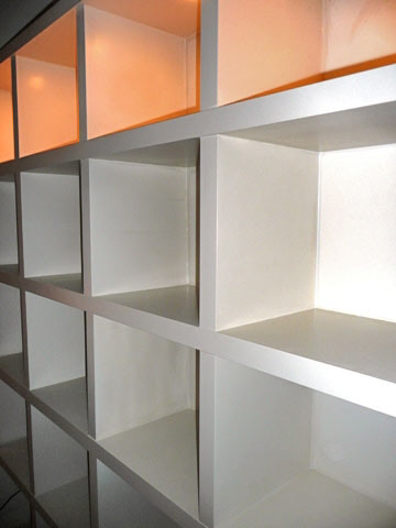 london design shelves